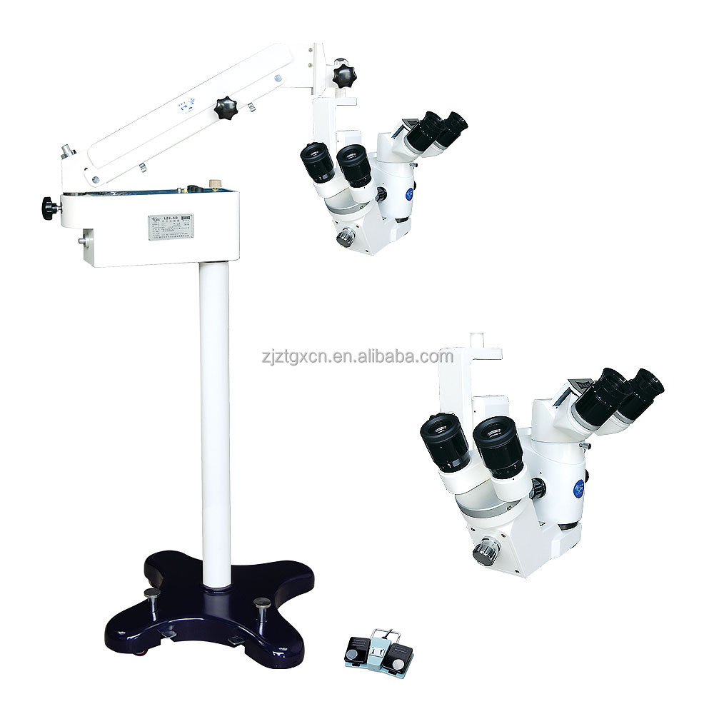 medical equipment 5 step magnification ophthalmology operation microscope LZJ-5D(CE,ISO,Factory)