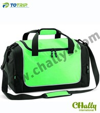 Fashion color polyster travel time bag