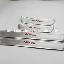 Sportage KX5 door sill plate with stainless steel accessories for 2016 Sportage KX5