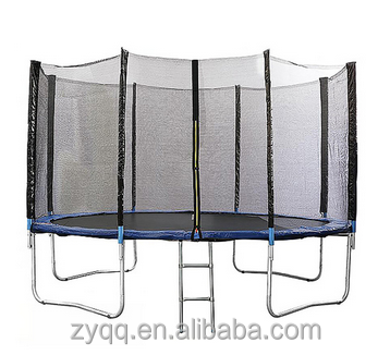 15ft folding trampoline round new