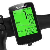 Cheap Bicycle Computer Cycling Bike Odometer Speedometer Waterproof Backlight Stopwatch