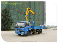hiab crane truck,hydraulic outrigger,2.5-4tons cranes for sale