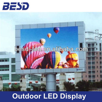 Big screen outdoor P20 advertising LED display, P20 LED screen, Outdoor LED Panel