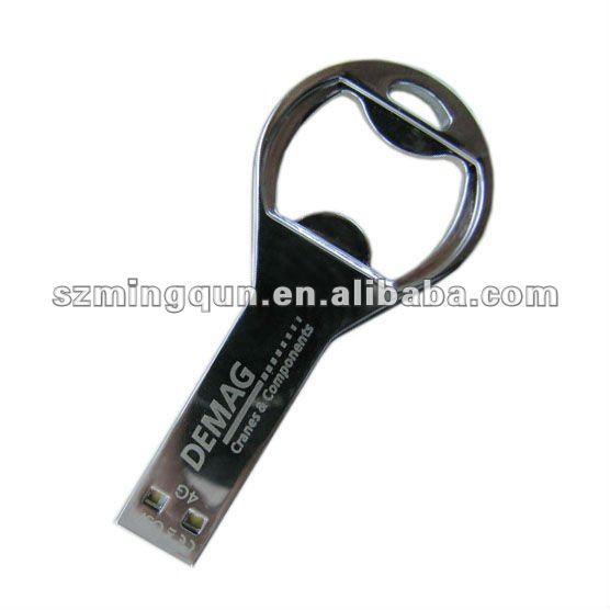metal bottle opener usb memory flash drive