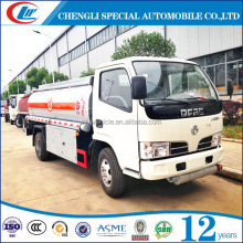 Dongfeng 4*2 small volume oil fuel tank trucks for sale