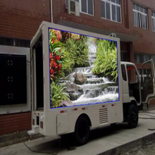 Outdoor P4 Moving Advertising Digital Car LED Display Screens Mobile Truck LED TV Screen