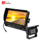 Car reversing aid 9 inch lcd monitor with bus reverse camera IR light