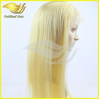 wholesale cheap brazilian human hair lace front wig for white women