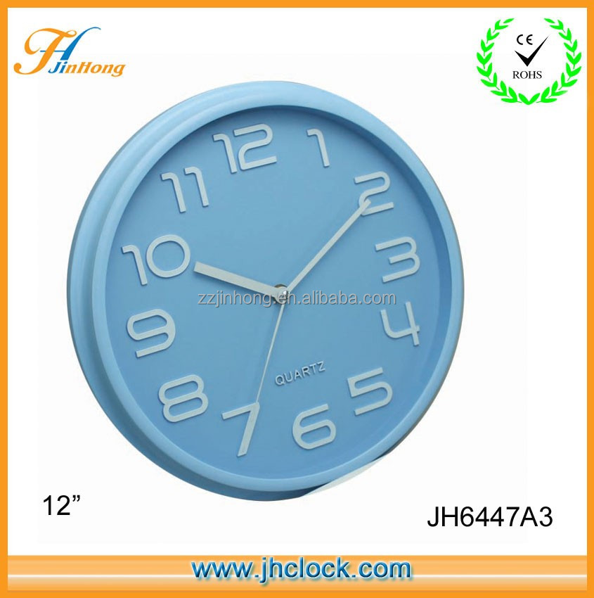 Colorful Supper Quality Office Wall Clock