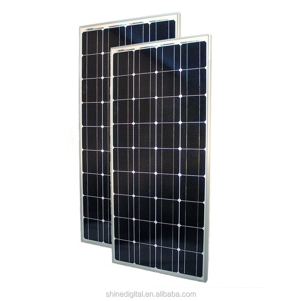 High Quality Low Price 36V 200w Solar Modules PV system solar Panel with mono crystalline silicon solar cell