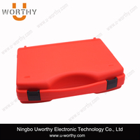 Portable ABS / PP Material Custom Logo Printing and Foam Inside Plastic Equipment Packaging Case