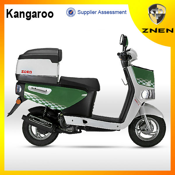 ZNEN MOTOR -- M Kangaroo pizza delivery scooter 50CC (Patent gas scooter,EEC, EPA, DOT) big delivery box cheap electric scooter
