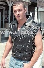 Outback Chopper Leather Vest