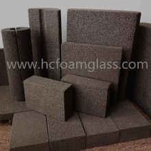LNG gas pipe insulation material foam(cellular)glass