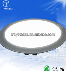 High quality 18w led round flat panel light