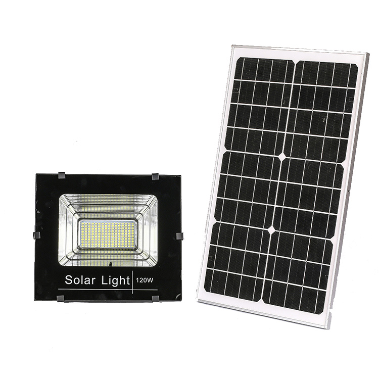 Outdoor Solar Security Light IP65 Solar LED Flood Light 10Watt With Remote Control