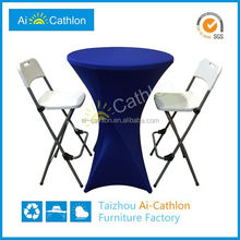 cheap small high top cocktail tables,folding high bar tables for sale
