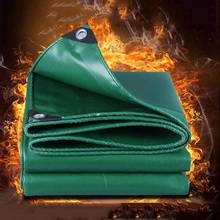 canvas fire resistant,fireproof tarp <strong>PVC</strong> waterproof and fireproof tarpaulin cover for welding shelter