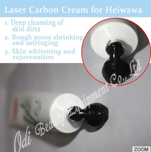 China Factory Black Doll Heiwawa skin rejuvenation laser carbon powder 50g skin whitening acne treatment carbon cream for laser