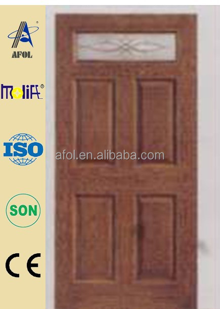 AFOL architectural fiberglass doors WPC frame and wood frame from China