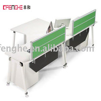 Modern design office workstation / office Alu-alloy partition