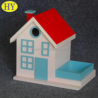 Wholesale custom diy miniature wood crafts houses for sale