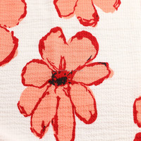 flower design textile and fabric print polyester chiffon