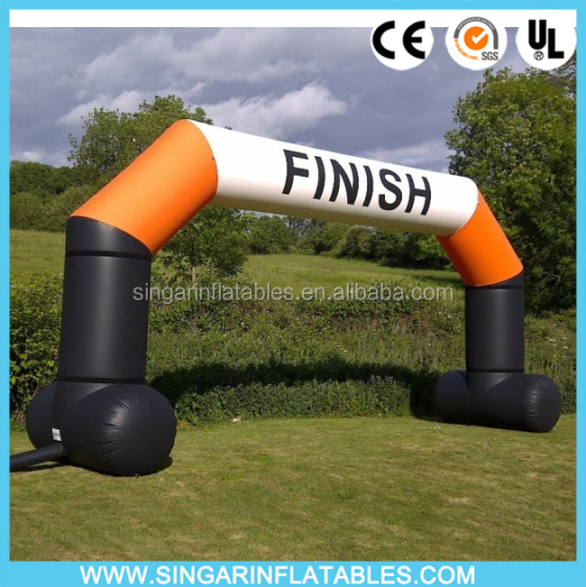 Cheap sports inflatable finish line / starting line arch for Racing