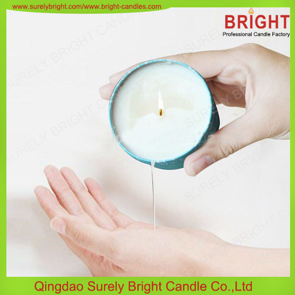 Good Quality Soy Wax Scented Candles In Tin Can Container