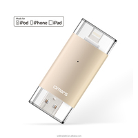 64G OTG USB Flash Drive for iPhone External Storage with MFi certified