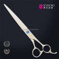China factory pet grooming scissors/shears scissors set with finger ring