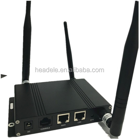 HDRM1004G 4G LTE WIFI router embedded SIMCOM module SIM7100 for BUS ,CAR ,GAS station