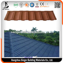 stone coated step tiles roofing sheet in Nigeria/lowes kerala roof tile prices for sale