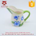 High quality top selling Kettle Design Simple Wholesale Ceramic hand painted water jug