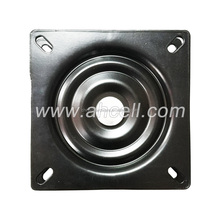 3 4 5 6 7 8 Inch Square Metal Small Turntable Lazy Susan furniture parts lazy susan swivel plate metal chair Swivel Plate