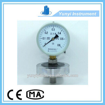 Good price diaphragm pressure gage OEM