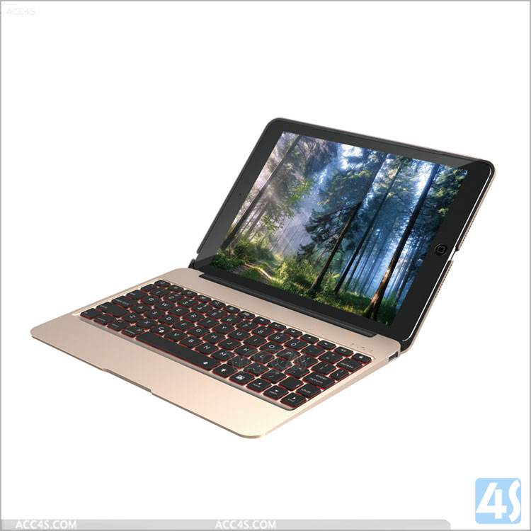 2016 new coming Hot sale wireless mini Bluetooth Keyboard for Apple iPad Air 2