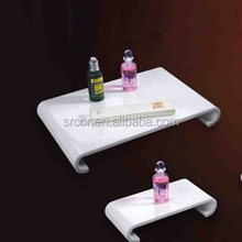 customized acrylic food tray with wheels