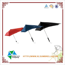 Private design strong frame withstand winds senz umbrella