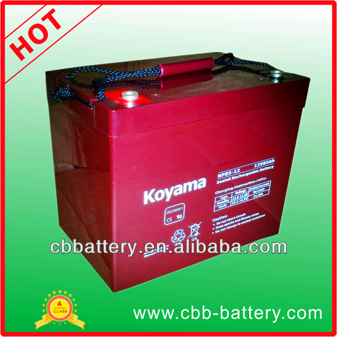Wholesale and retail factory sell 12V85Ah maintenance free ups battery