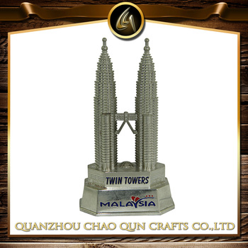 metal malaysia twin towers model