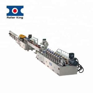 Taiwan roll forming welded stainless steel pipe making machine