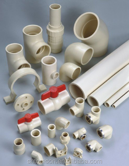 Cpvc pipe making machine raw material fittings one stop