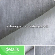 2015 new 100% pure ramie fabric plain weave for garments BG2223