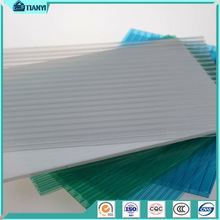 Promotional Best Price Triple Wall Polycarbonate Sheet With X Structure
