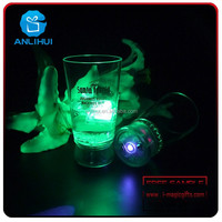 Attractive projection cup led glow party glass supplies plastic led party lights cup