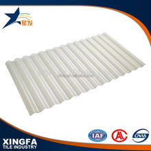 Popular clear trapezium polyurethane roofing sheet