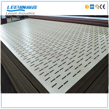 types of ceiling materials Wooden Perforated Acoustic Panel
