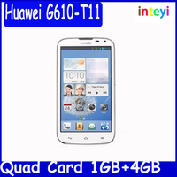 Original Huawei G610 wcdma g610s mobile phone mt6589M quad core Smart phone