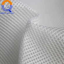 warp knitted 100 polyester sandwich 3D air mesh fabric for motorcycle seat cover mattress